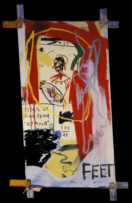 Jean-Michel Basquiat. The maid from Olympia