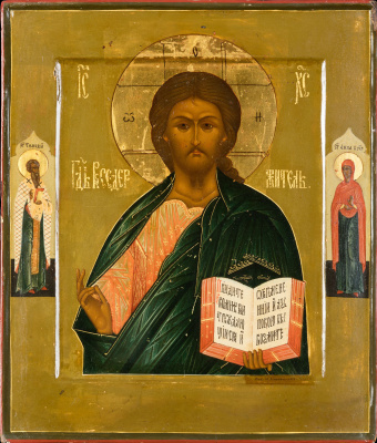 Icon Painting. Lord Almighty (N.S. Emelyanov)