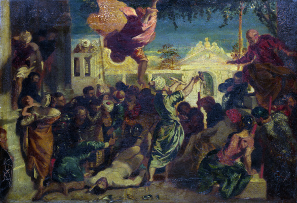 Jacopo (Robusti) Tintoretto. Miracle of St. Mark