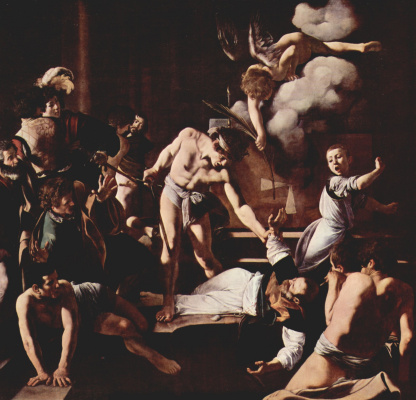 Michelangelo Merisi de Caravaggio. The Martyrdom Of St. Matthew