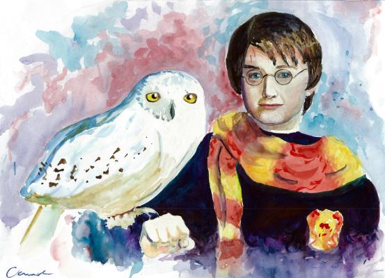 Ekaterina Viktorovna Osipovich. Harry Potter and Hedwig