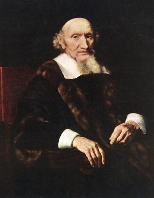 Nicolas Mas. Portrait Of Jacob