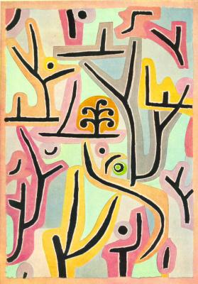 Paul Klee. Park near Liu