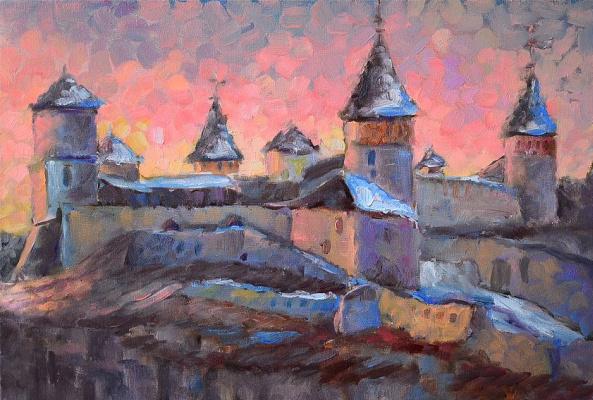 "Sveta Mikhailova. ""Polish street evening Kiev"""