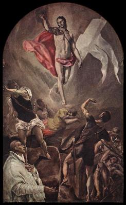 Domenico Theotokopoulos (El Greco). Sunday