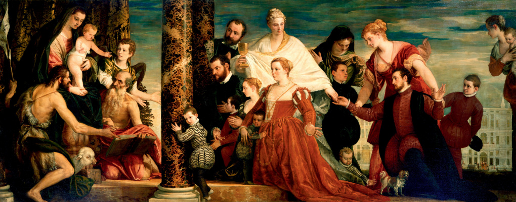 Paolo Veronese. Madonna of the Kuchchina family