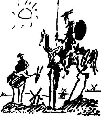 Pablo Picasso. Don Quixote