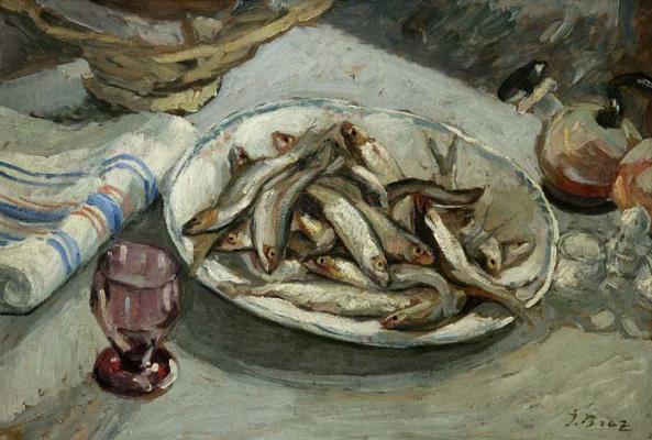 Osip Emmanuilovich (Joseph) Braz. Still life. 1936