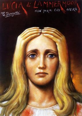 Rafal Olbinski. Lucia di Lammermoor