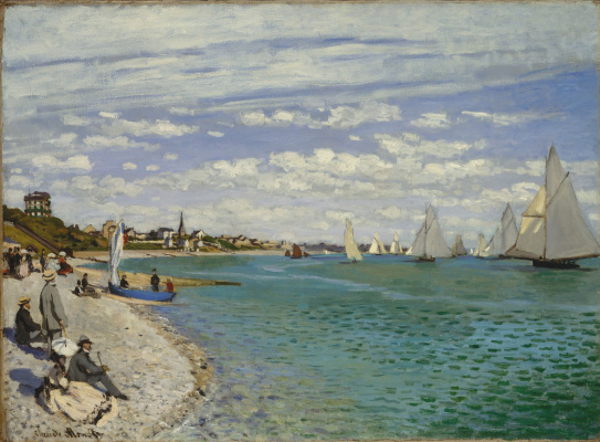 Claude Monet. Regatta at Sainte Address