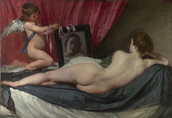 Diego Velazquez. Venus with a mirror