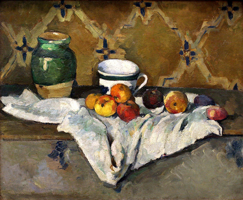 Майкл Вайнберг. Натюрморт с яблоками