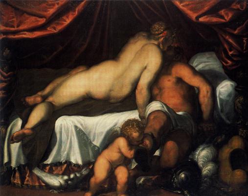 Джакомо Пальма Младший. Венера и Марс