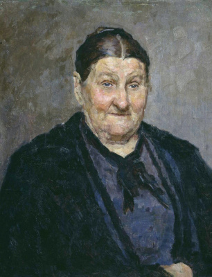 Kiriak Konstantinovich Kostandi. Portrait of M. I. Knyazeva