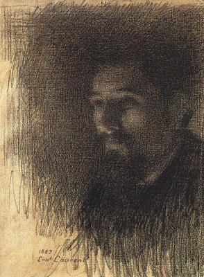 Е Лорен. Мужской портрет
