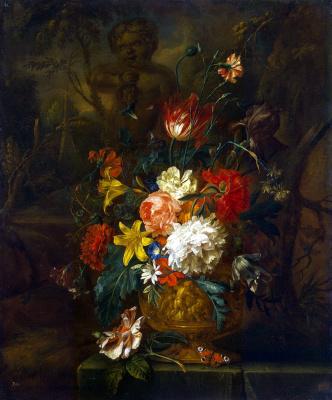 Юстус ван Хейсум. Цветы