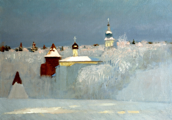 Nikolay Y. Anokhin. Russian winter
