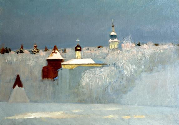 Николай Юрьевич Анохин. Русская зима