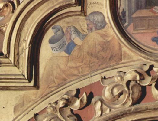 Gentile da Fabriano. The Prophet Baruch