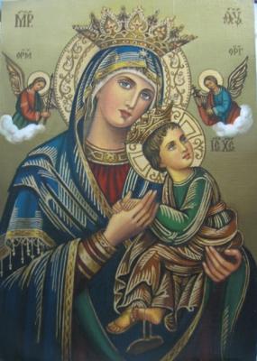 Ядвига Сенько. B. M. of perpetual help - icon of the Catholic