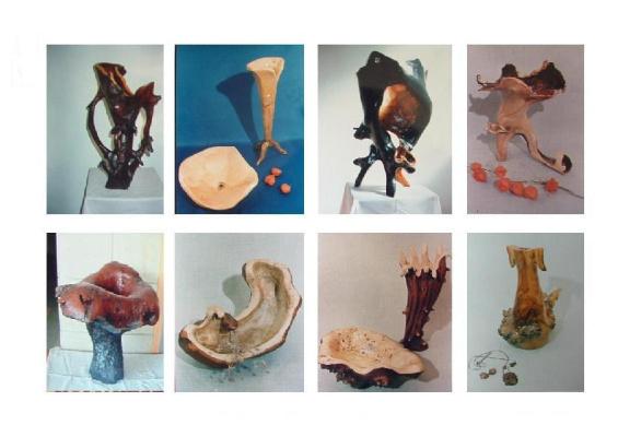 MARK YAKOVLEVICH GOLDFAYN. Vases