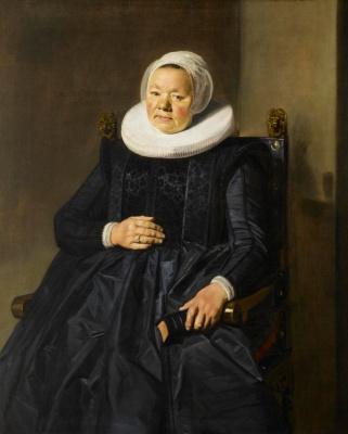 Frans Hals. Portrait of a woman