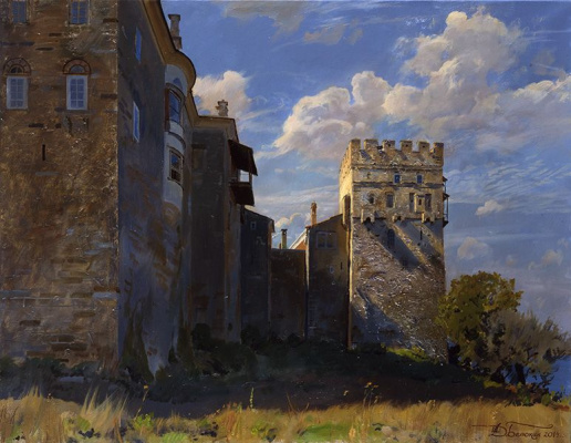 Dmitry Anatolyevich Belyukin. Towers of Vatopedi