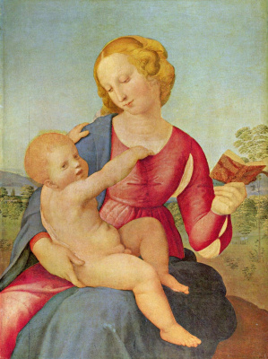 Raphael Sanzio. Madonna Of The Colonna