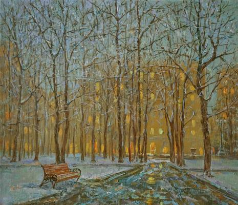 Alexander Panyukov. City lights