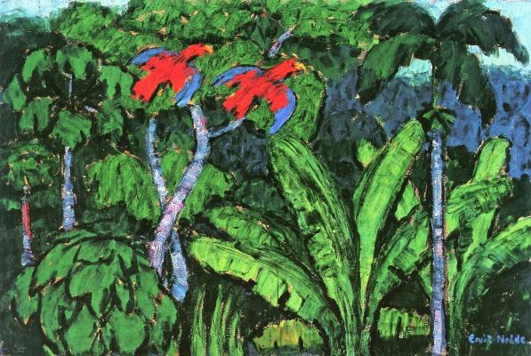 Emil Nolde. Rainforest