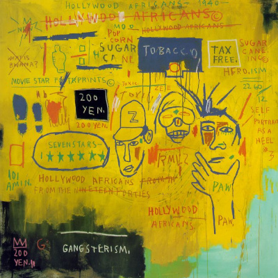 Jean-Michel Basquiat. Hollywood Africans