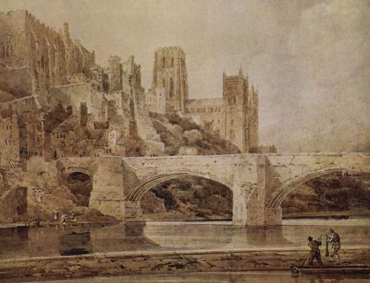 Томас Гёртин. Собор и мост в Дурхаме