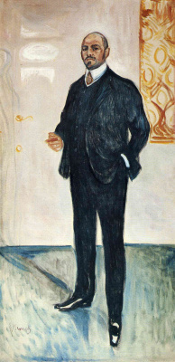 Edvard Munch. Walter Rathenau