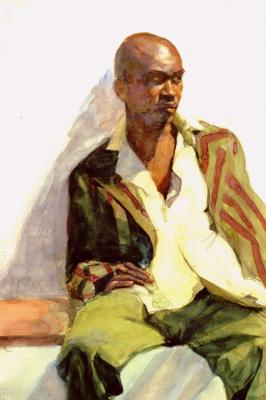 Рода Янов. Полосатая куртка