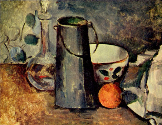 Paul Cezanne. Still life