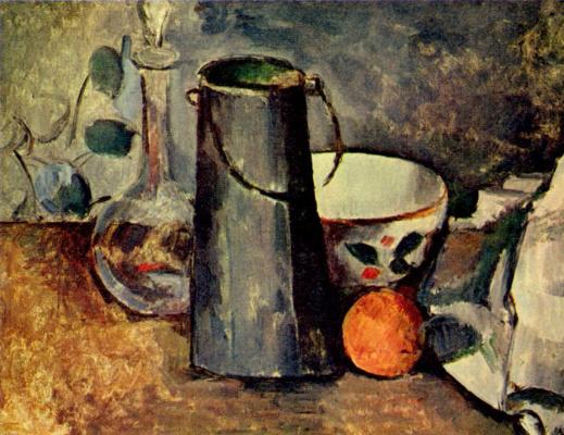 Paul Cezanne. Still life
