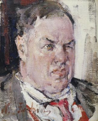Nikolay Feshin. Portrait Of David D. Burliuk
