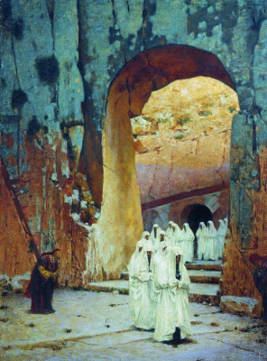 Vasily Vereshchagin. In Jerusalem. Tombs of the kings