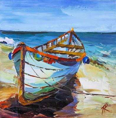 A boat. On the Mediterranean coast N2