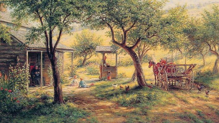 Эдвард Ламсон Генри. Остановка лошадей