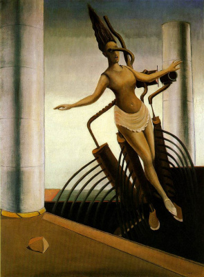 Max Ernst. The wavering woman