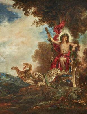 Gustave Moreau. Triumph of bacchus