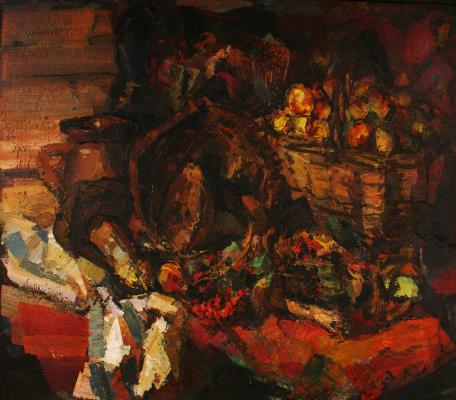 Dmitry Gennadyevich Popov. Autumn still life
