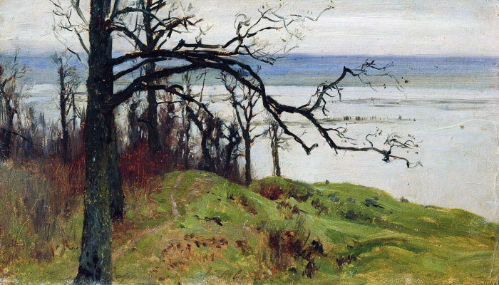 Isaac Levitan. Volga from the high Bank