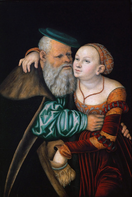 The courtesan and the old man