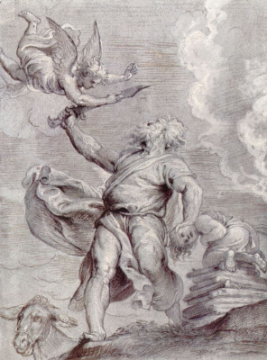 Peter Paul Rubens. The Sacrifice Of Abraham