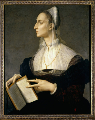 Agnolo Bronzino. Portrait of Laura Battiferri