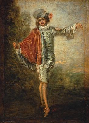 Antoine Watteau. Indifferent