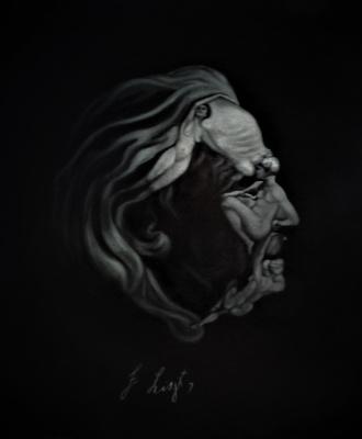 Natalia Viktorovna Tyuneva. Portrait of Franz Liszt