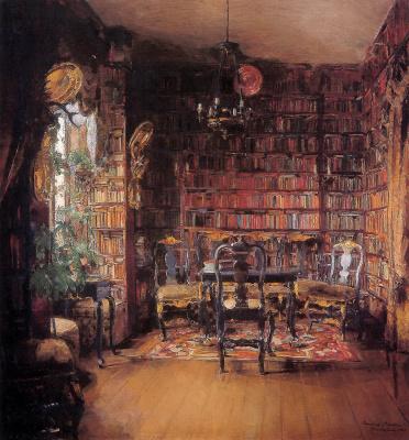 Гарриет Бакер. Библиотека
